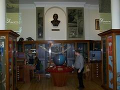 Richard Carter observing Darwin the Geologist