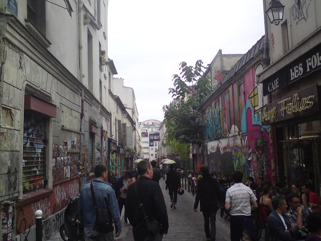 La rue Dénoyez