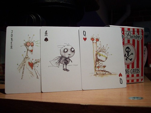 Playing Cards - Tim Burton