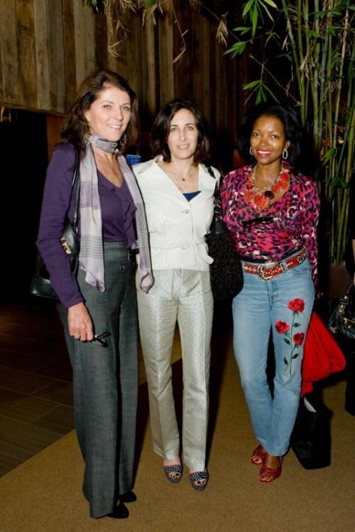 Lorrae Rominger, Stephanie Coyote, Denise Bradley Tyson