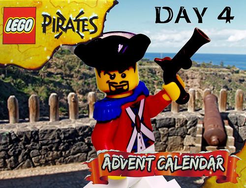Pirate Advent Calendar Day 4