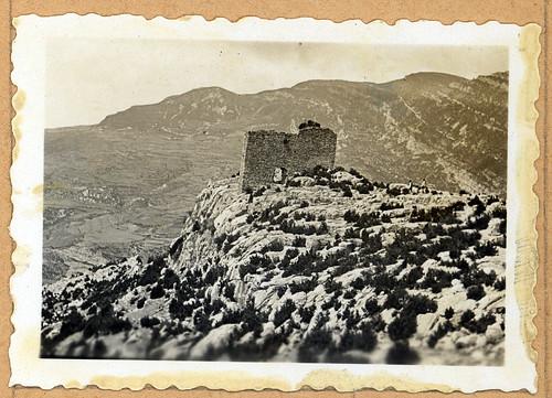 ADACAS - 03-6: Castillo de Ordás, Nueno, Huesca. 1921-1924