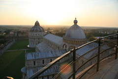 Pisa - We Went Up The Tower at Sunset