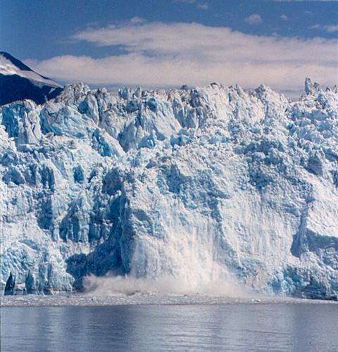 """Hubbard Glacier - """"Calving"""""""