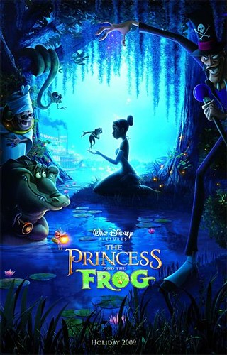 the princess and the frog por ti.