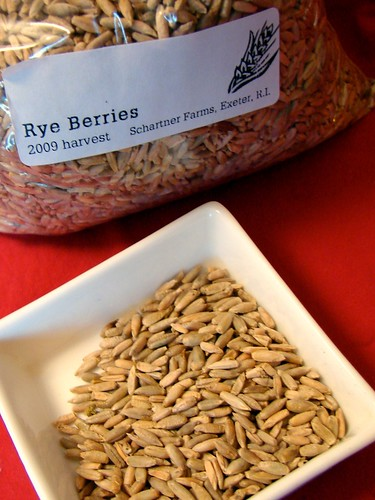 raw rye berries