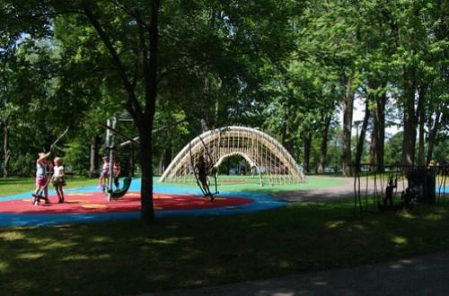 Park at Ile Jean Drapeau