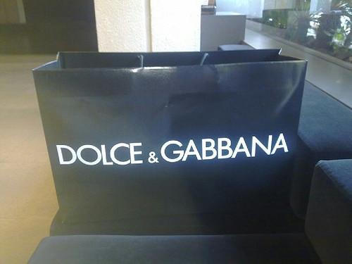 Dolce & Gabbana paper bag
