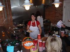 Pancake slinger supreme Kate from Hills Market