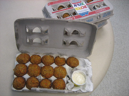 Amuse Bouche morning glory muffins