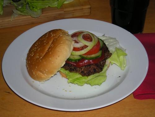 Do-it-yourself-Hamburger
