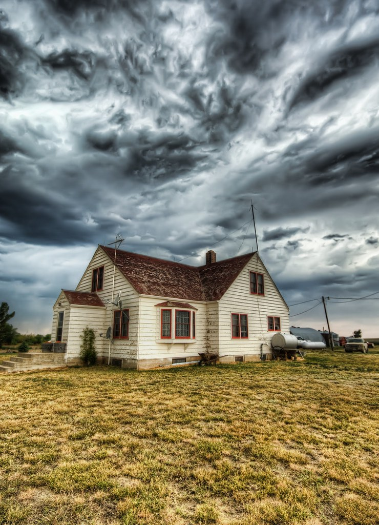 Running to the Storm Cellar on the Farm
