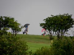 Mal dia para el golf