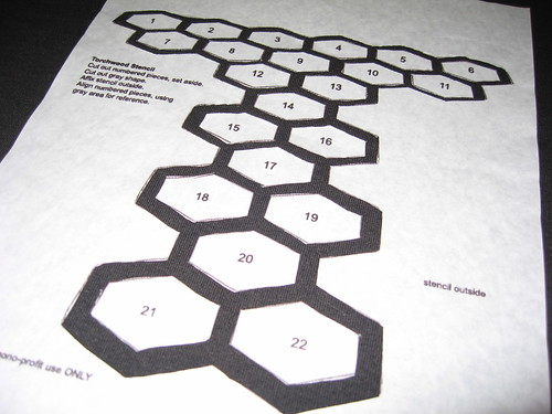 Torchwood Stencil How To