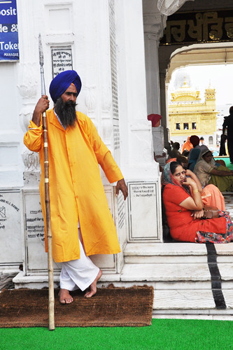 Sikh Temple Guard
