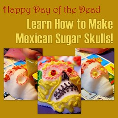 Learn how to make Mexican Sugar Skulls