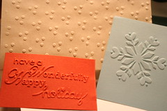 some samples from sizzix boutique