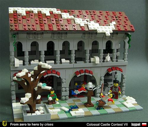 LEGO crises_crs knight training