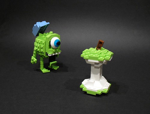 LEGO Monsters Inc. Mike Wazowski