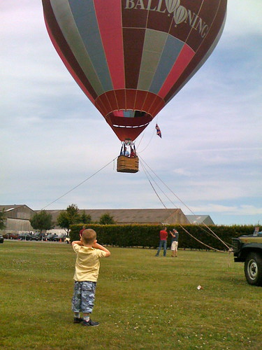 There were even ballon flights, though we didnt go on one