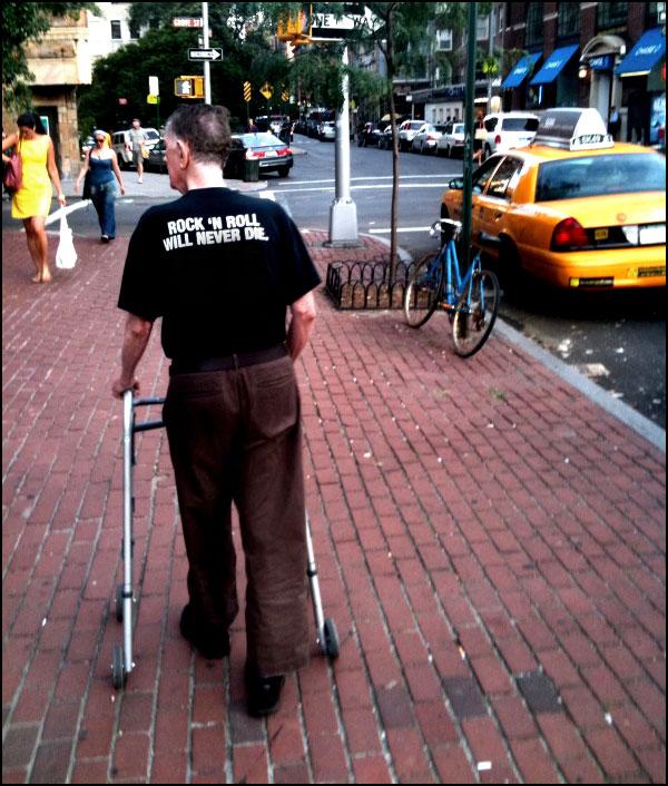 Christopher Street, New York City, August 6, 2009.  Photo by Jeff Simmerman