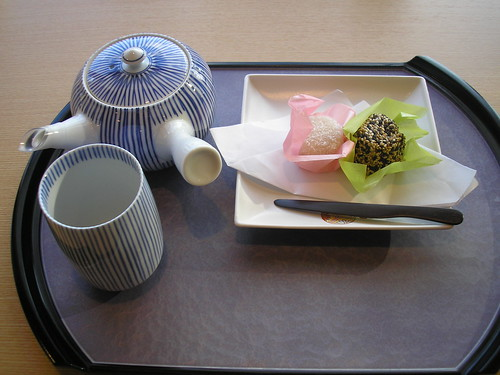 Tea and sweets...