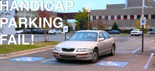 HANDICAP PARKING FAIL