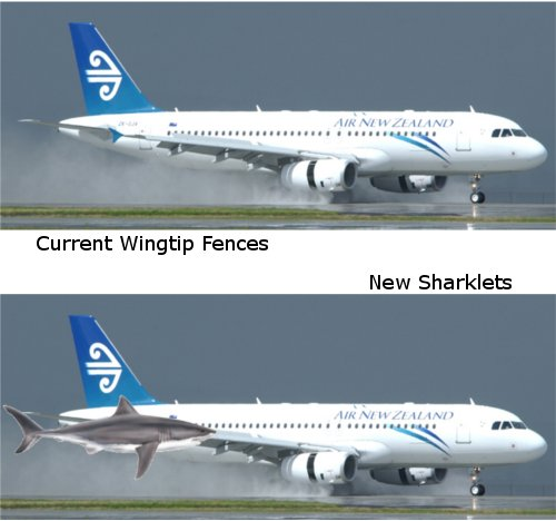 Airbus Sharklets (or not)