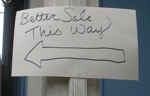 Better Sale This Way