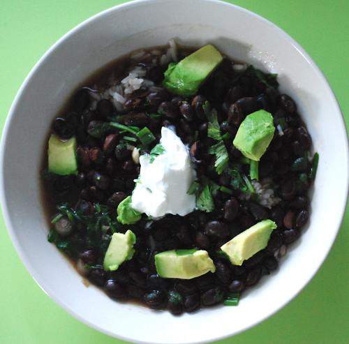 267/365 black bean soup