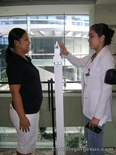 Wena weighing off