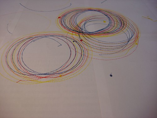 Doodling and circling - 2