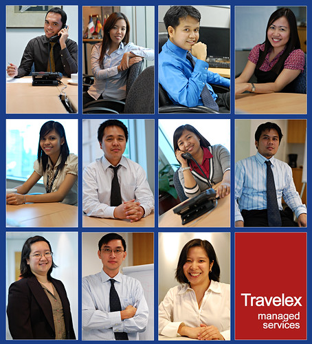 Business Portraits of my colleagues. They look like pro models right?