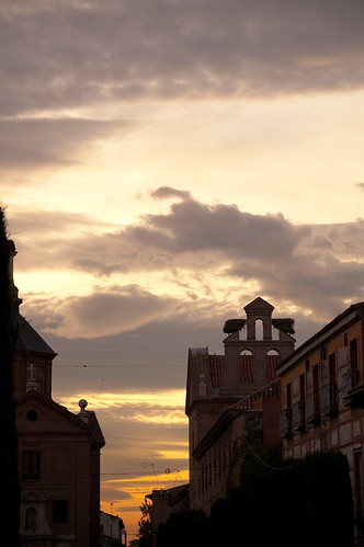 Atardecer en Alcalá
