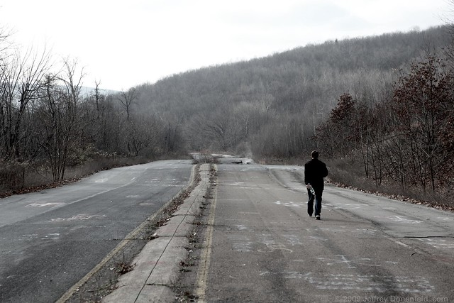 NIck on the abandoned highway