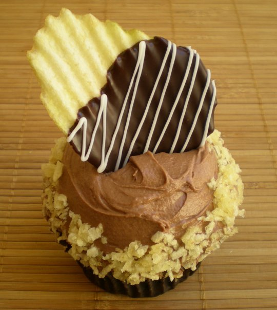 5 Potato Chip Cupcakes