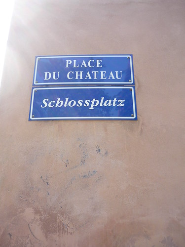 The bilingual city of Strasbourg