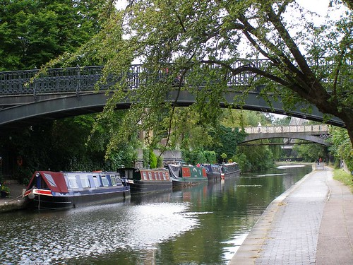 Paseo por el canal que rodea a Regents Park