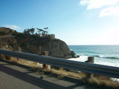empty house on pacific coast highway