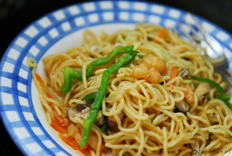 Autumn Fried Noodle