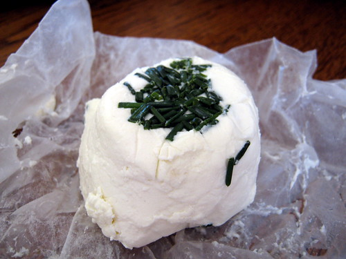 Handmade Dill Chevre (Goat Cheese)