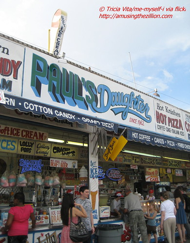 Paul's Daughter, formerly Gregory & Paul's, on the Coney Island Boardwalk. June 27, 2009. Photo © Tricia Vita/me-myself-i via flickr