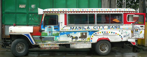 manila city band jeepney