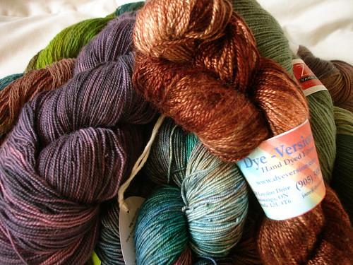 Knitters' Fair 2009: what a haul!