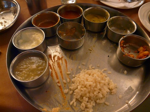 thali at Chutneys (?)