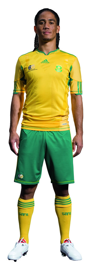 South Africa Adidas World Cup 2010 Home Jersey Kit Football Fashion Org