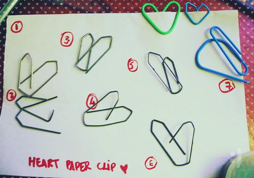 Heart Paper Clip ♥