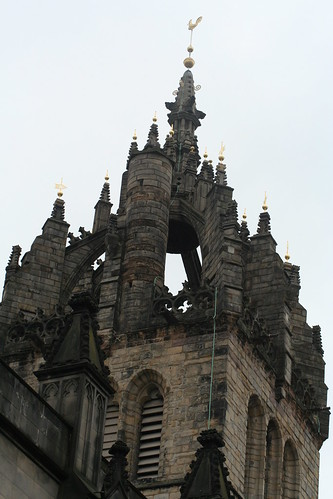 Crown steeple of the St Giles' Cathedral, Edinburgh