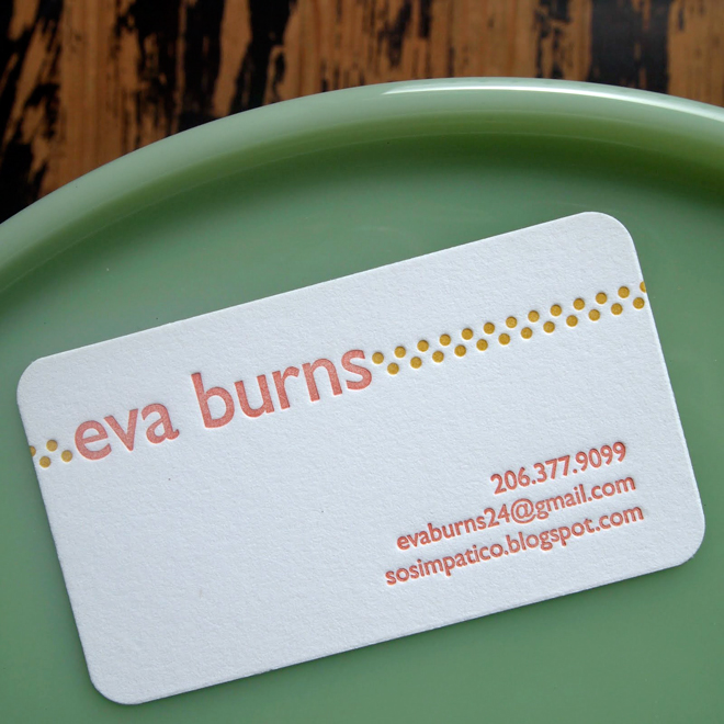 Eva | Calling Card