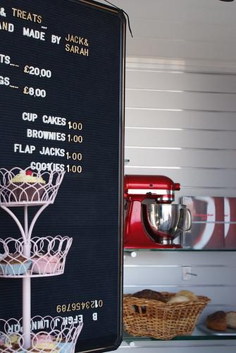 KitchenAid board and cupcakes